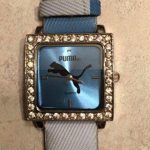 Puma watch needs batteries